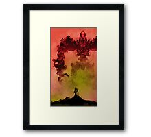 My Killbot is Bigger Than Your Killbot Framed Print