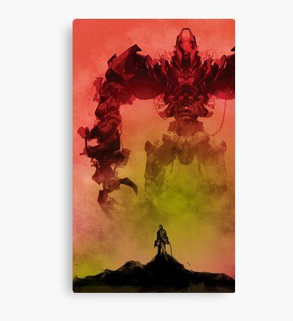 My Killbot is Bigger Than Your Killbot Canvas Print