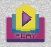 Retro-PLAY One Piece - Short Sleeve