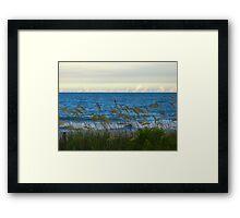 Peaceful Serene Beach Framed Print
