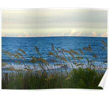 Peaceful Serene Beach Poster