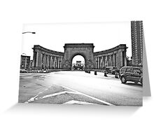 An arched door Greeting Card