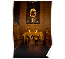 Through the Hallway - Grand Central Terminal  Poster