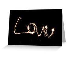 Love is Pink! Greeting Card