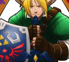 Hero of Time (Green) Sticker