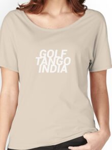 Golf Tango India Women's Relaxed Fit T-Shirt