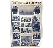 British navy at war 140 Poster