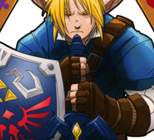 Hero of Time (Blue) Sticker
