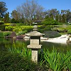 Peaceful - Japanese Gardens, Cowra by Marilyn Harris