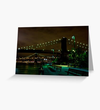Brooklyn Bridge III Greeting Card
