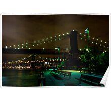 Brooklyn Bridge III Poster