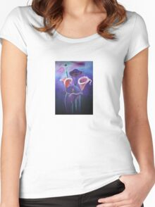 Purple Calla's Women's Fitted Scoop T-Shirt