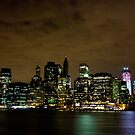 Manhattan Sky Line by sxhuang818