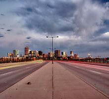 Denver Cityscape by Adam Northam