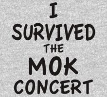 I SURVIVED THE MOK CONCERT Kids Clothes