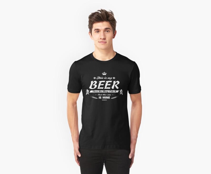 This is me Beer! by Crocktees