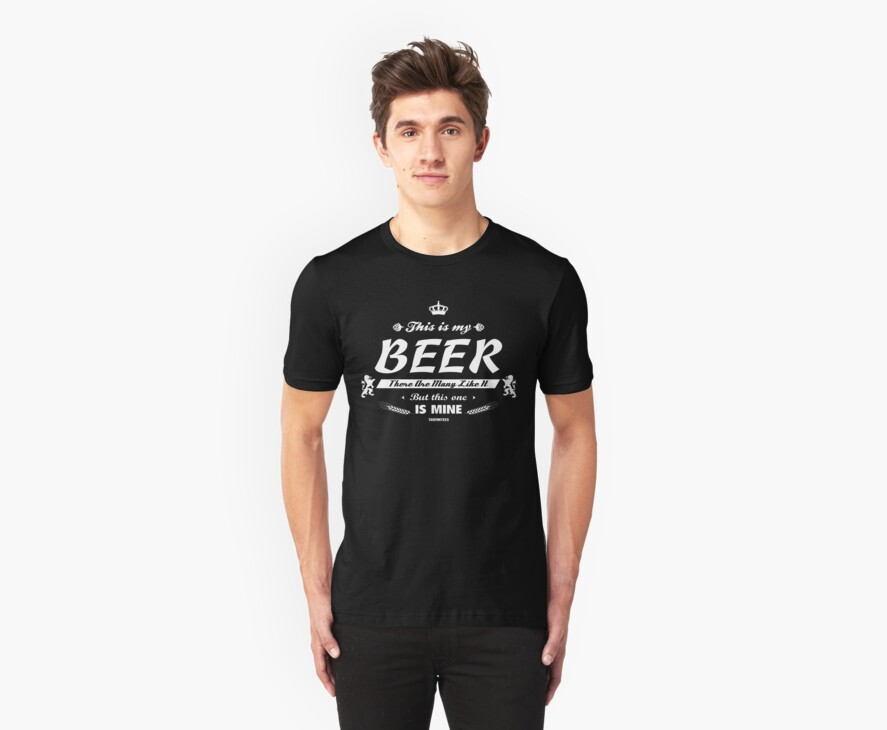 This is me Beer! by Crocktees