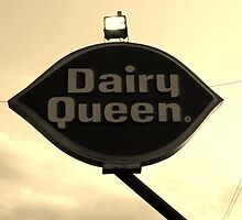 Old Dairy Queen Sign by Cynthia48