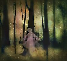 And they danced in the forest with the fireflies by Scott Mitchell