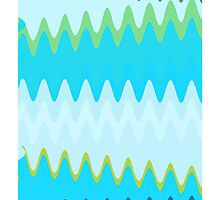 Retro Zigzag Colorful Chevron Striped Pattern 2 by Nhan Ngo