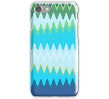 Retro Zigzag Colorful Chevron Striped Pattern 2 iPhone Case/Skin