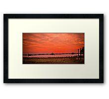Addalyn's Sunrise Framed Print