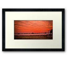 Addalyn's Sunrise Framed Print