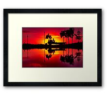 """Labouring At Dawn"" Framed Print"