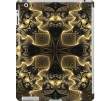 Black N Gold iPad Case/Skin