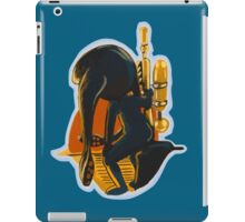 Squid girl looking into the Sunset iPad Case/Skin