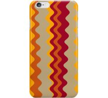 Retro Zigzag Colorful Chevron Striped Pattern 3 iPhone Case/Skin