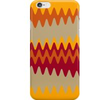 Retro Zigzag Colorful Chevron Striped Pattern 4 iPhone Case/Skin