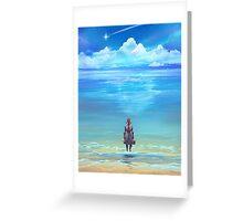 Seashores of Eternity Greeting Card