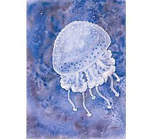 White Spotted Jellyfish Photographic Print