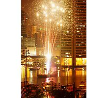 Baltimore Fireworks Photographic Print
