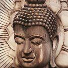 Buddha in Biege by KelseyGallery