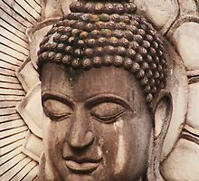 Buddha in Biege by KelseyGallery
