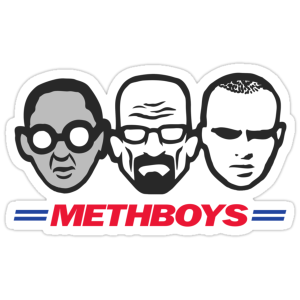MethBoys- Breaking Bad Shirt by spacemonkeydr