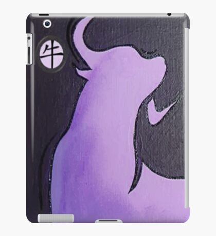 Lilac Year of the Ox iPad Case/Skin