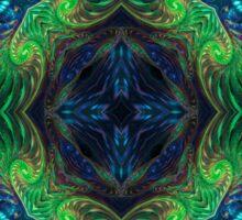 Psychedelic Fractal Manipulation Sticker