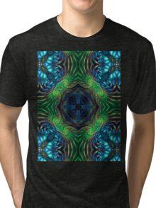 Psychedelic Fractal Manipulation Tri-blend T-Shirt