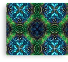 Psychedelic Fractal Manipulation Canvas Print