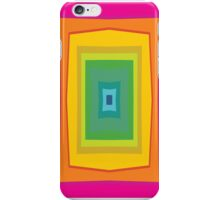Rainbow colorful retro seamless abstract iPhone Case/Skin