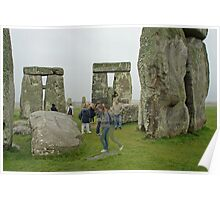 Stonehenge Ghosts Poster
