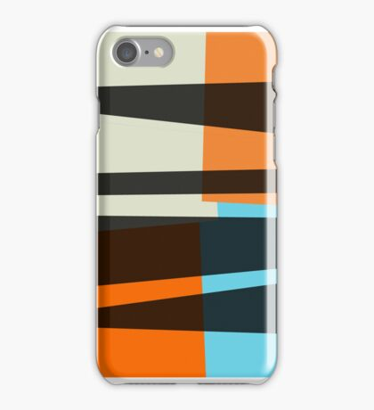 Colorful retro seamless abstract iPhone Case/Skin