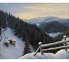 Snowy Fairytale Photographic Print