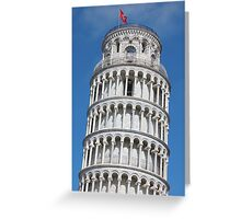 Leaning Tower in Pisa Greeting Card