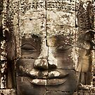 Cambodia , Bayon Temple by Malcolm Heberle