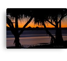 Glasshouse from Bribie Canvas Print