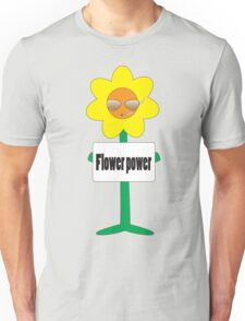 bad ass flower  Unisex T-Shirt